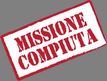 UN GRANDE OBIETTIVO DI SOLIDARIETA' - MISSIONE COMPIUTA!!!!