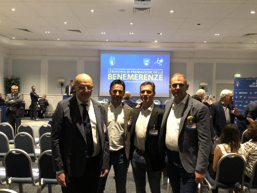 Roma, 22 Giugno 2019 – Benemerenza FIGC